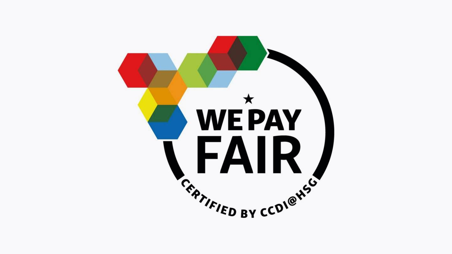 We pay fair