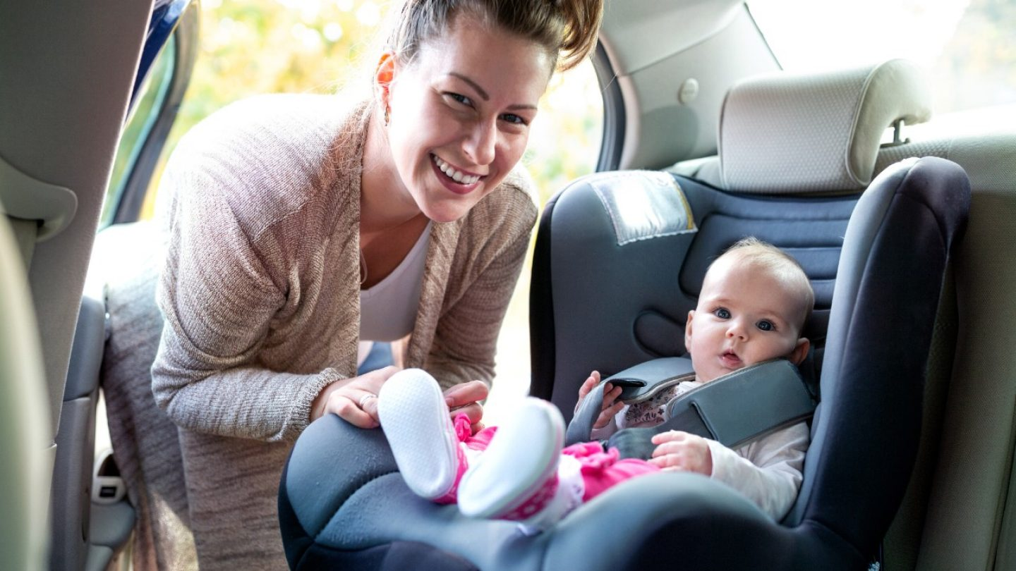 - Carrying your baby around in infant car seat