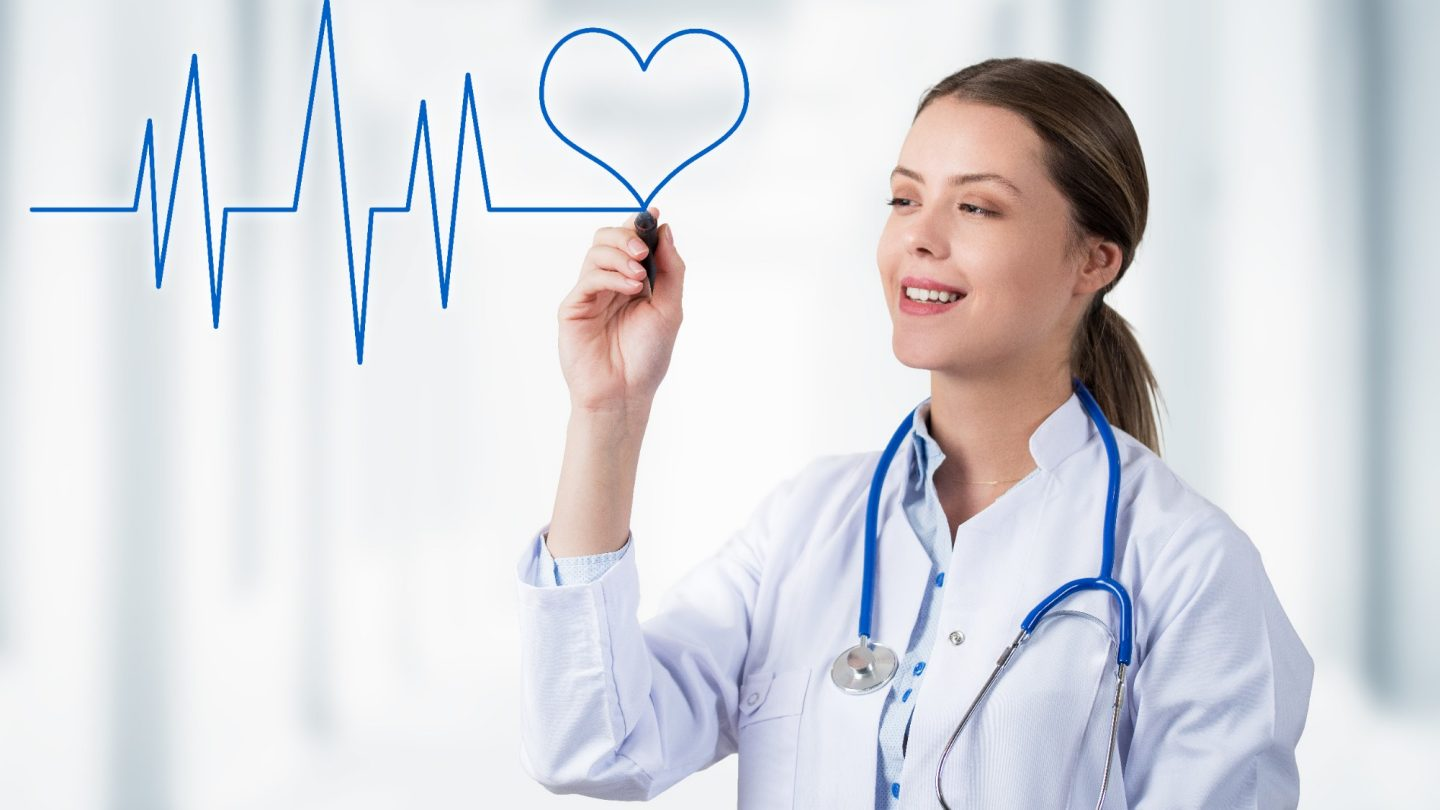 Heart Line and Smiling Doctor